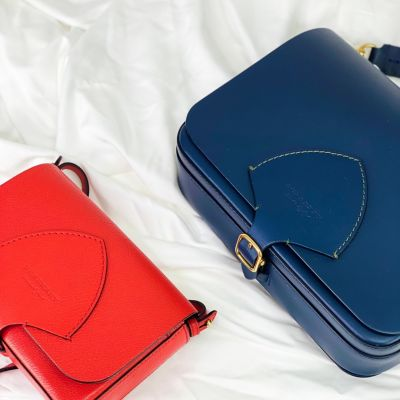 This or That... comment the colour you would want for these Burberry Crossbody Bags ❤️💙⁠ ⁠ ⁠ #thisorthat #thisorthatchallenge #uk #handbagclinic #silk #minimal #minimalaesthetic #handbags #ukfashion #slowfashion #sustainablefashion #burberry #burberrybag #khloekardashian #kimkardashian #whatiwouldbewearing