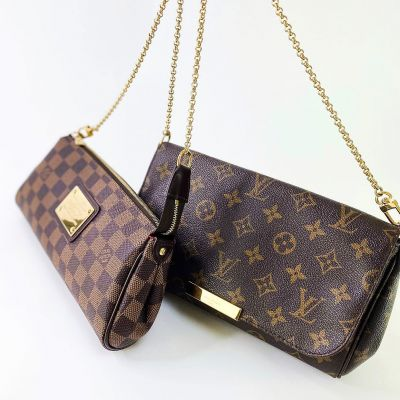The classic battle between Monogram & Damier Ebene designs 👜   With the recent revelation that Sex in the City is returning, there's never been a better time to invest in shoulder bag essentials like these ✨  Both are available to purchase now under the Louis Vuitton section of our website: link in bio 🤎