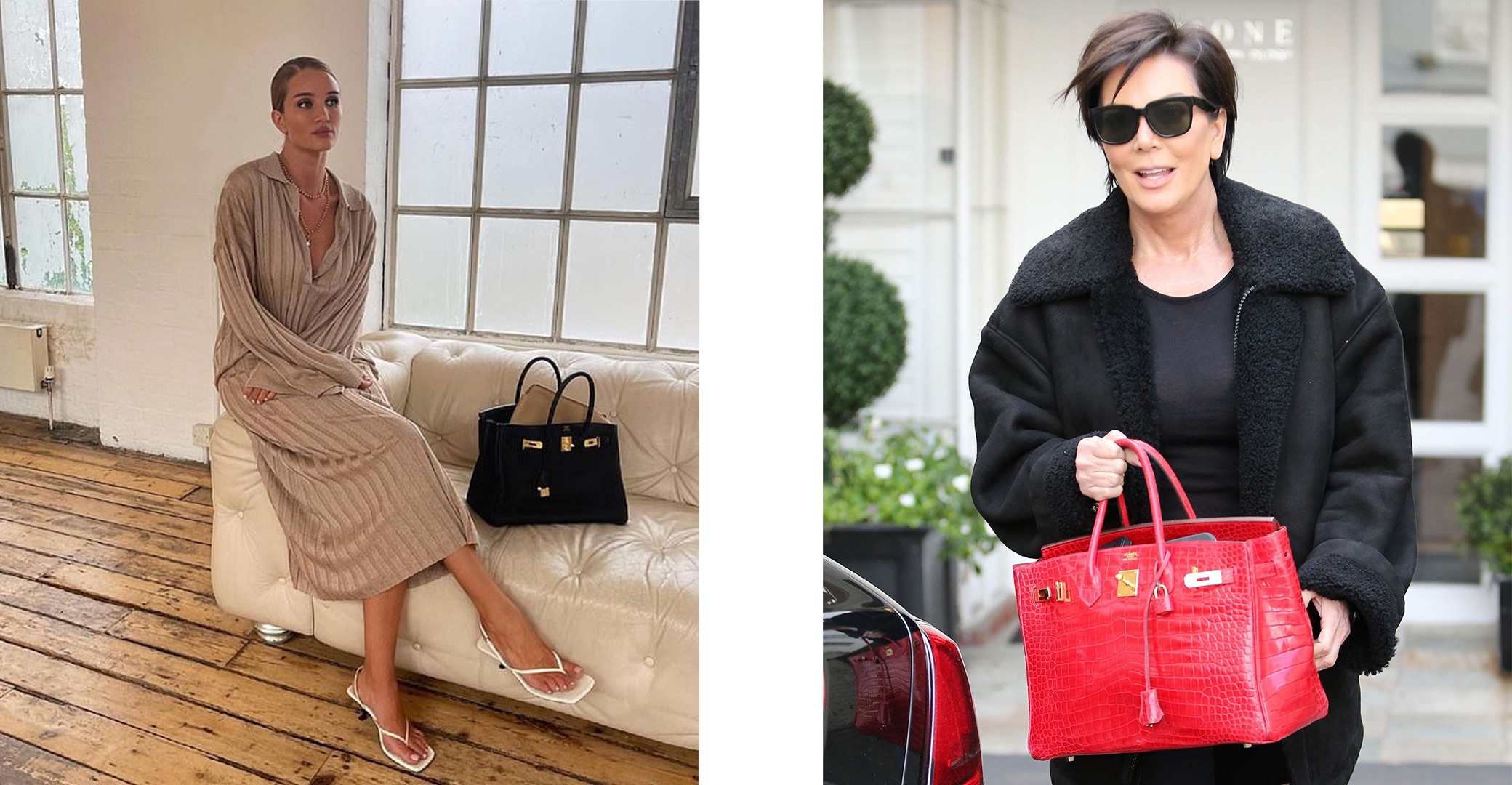 Celebrity Fans of Birkins: images sourced from their Instagram or Pinterest